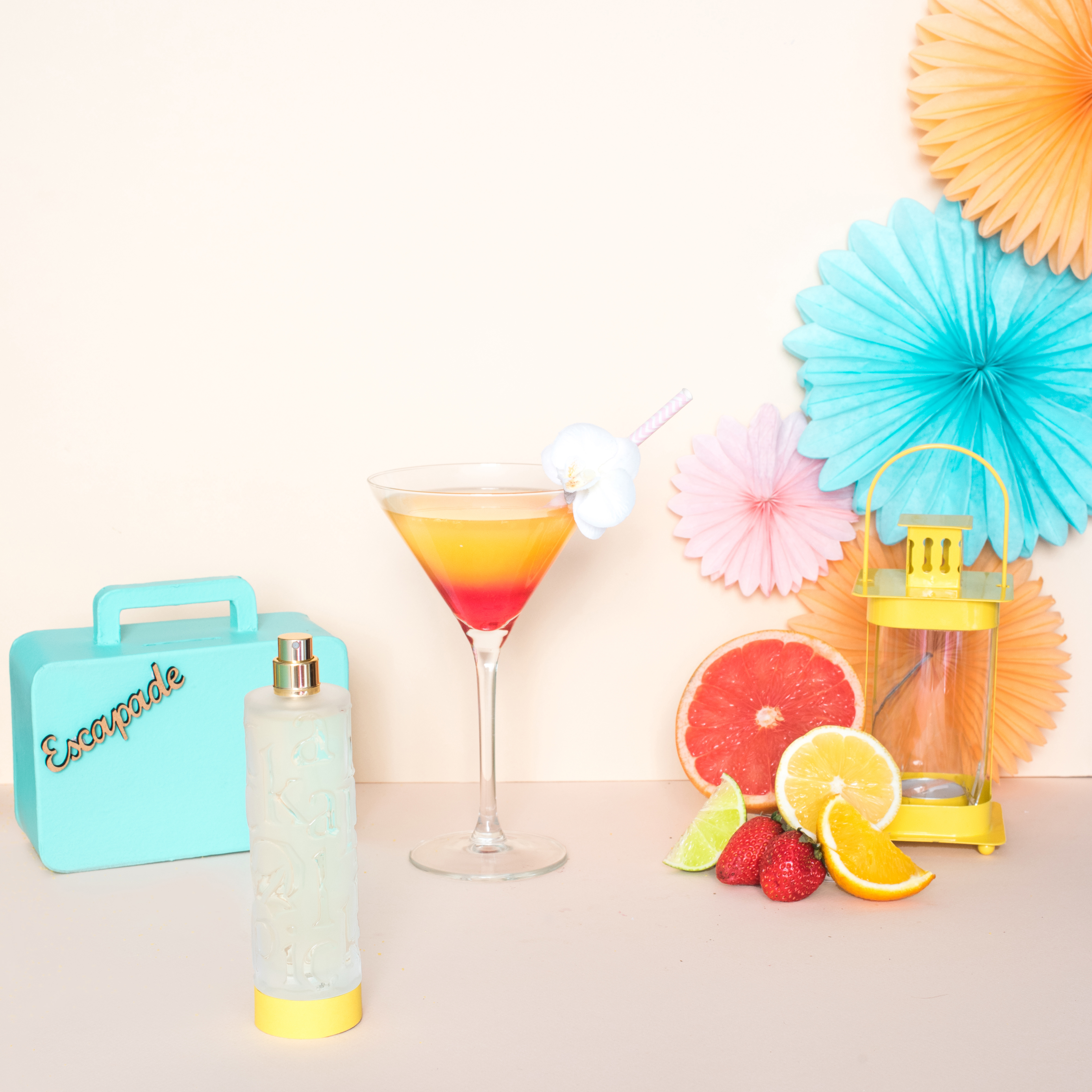 Nymphea's Factory – Tequila Sunrise carré HD