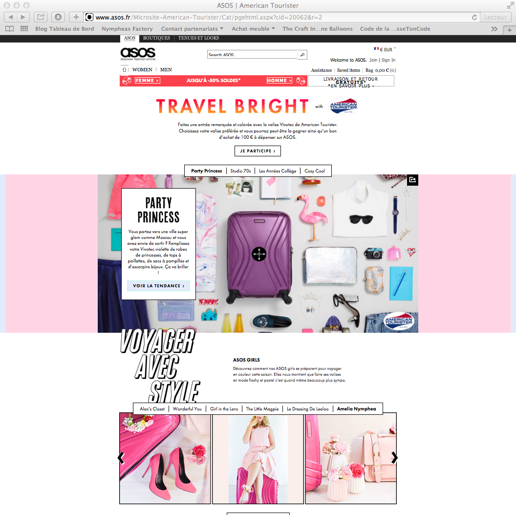 Nymphea's Factory - American tourister x Asos-10
