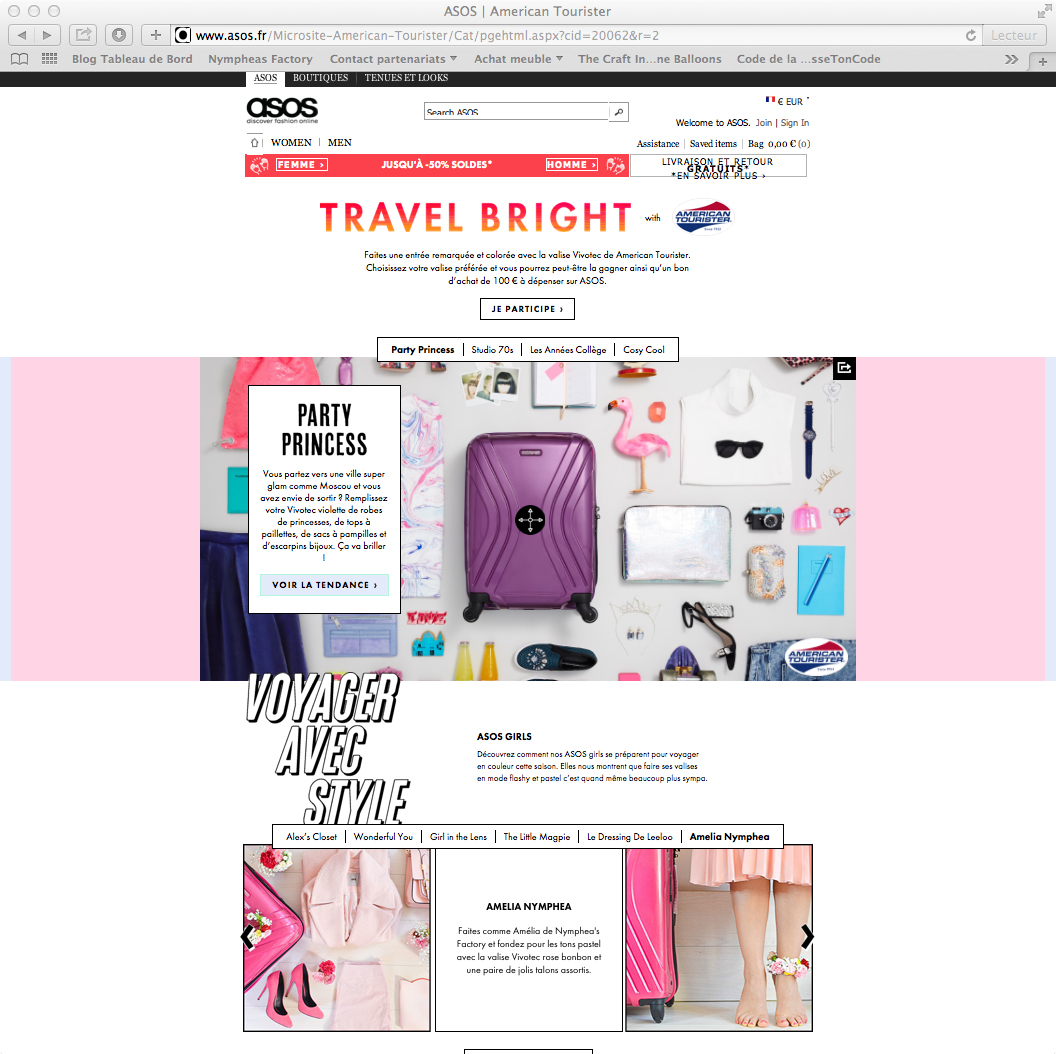 Nymphea's Factory - American tourister x Asos-11