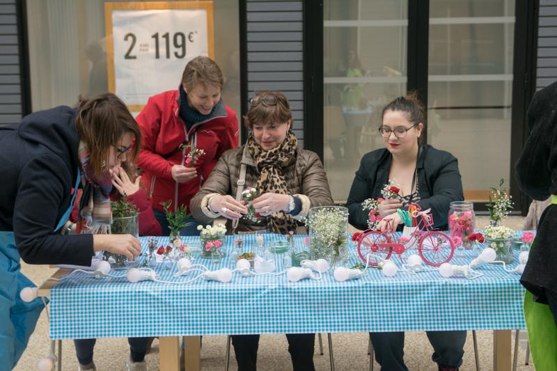 atelier bracelet floral
