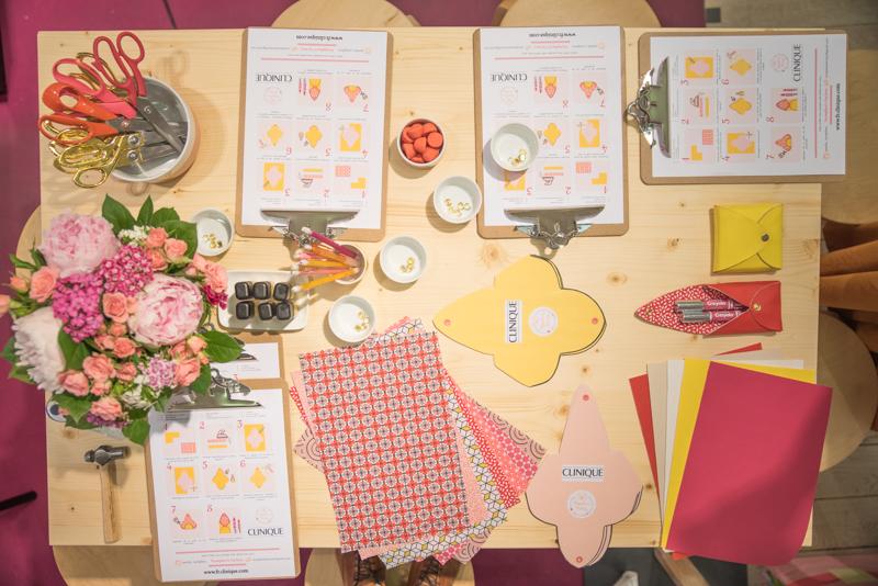 Nympheas Factory – atelier DIY clinique x BHV-2