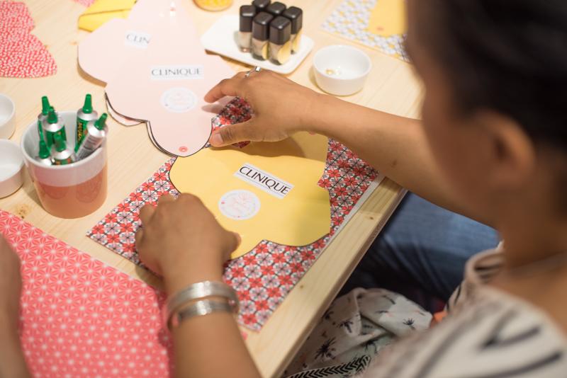 Nympheas Factory – atelier DIY clinique x BHV-6