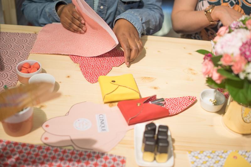 Nympheas Factory – atelier DIY clinique x BHV-7